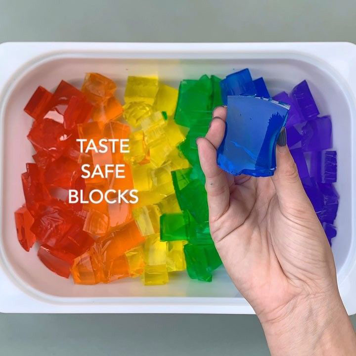 Taste Safe Blocks recipe to keep kids busy during lock-down