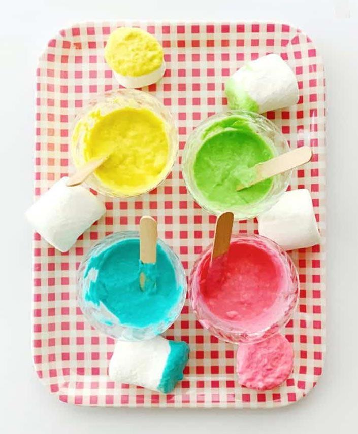 Taste safe paint to keep your kids busy during lock-down