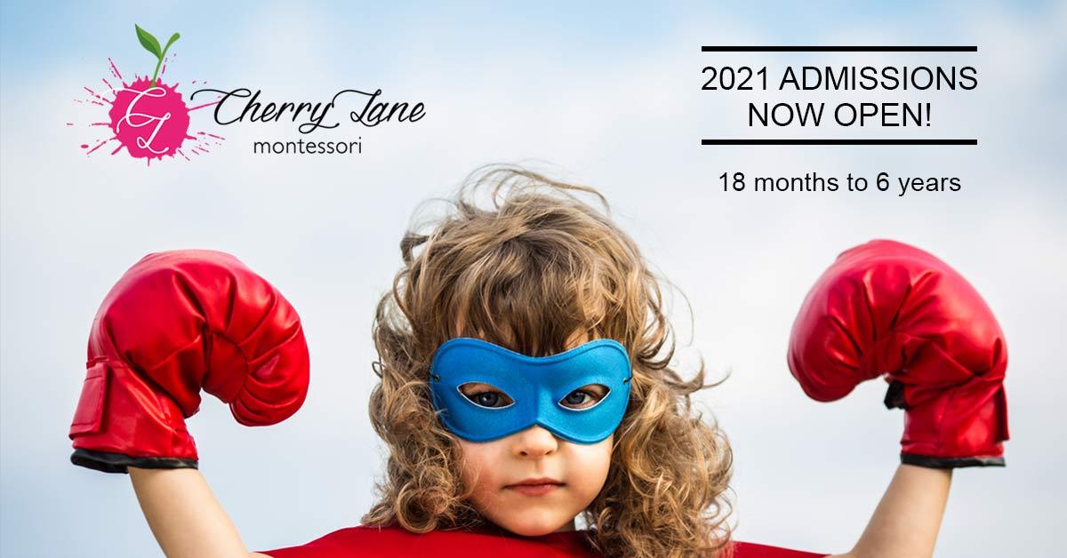 Enrolment for 2021 Cherry Lane Montessori